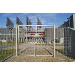 Dvojkrídlová brána Egidia 3D